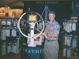 Boat Leather Boat Show Booth